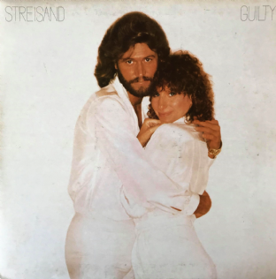 Barbra Streisand ‎- Guilty (LP) (G++/G-VG)